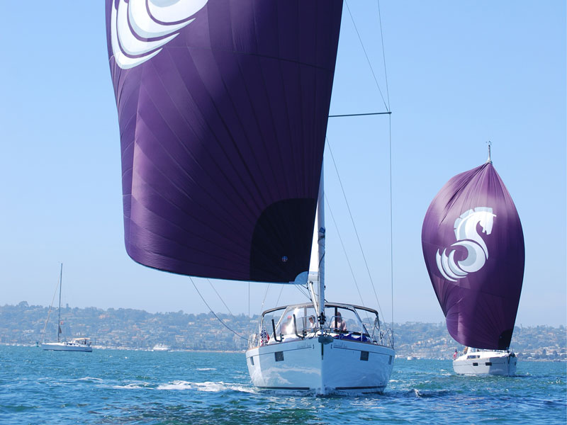 Blue Line Spinnakers The ultimate compliment to your cruising inventory.