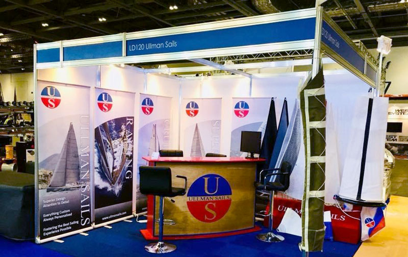 Ullman Sails at the London Boat Show