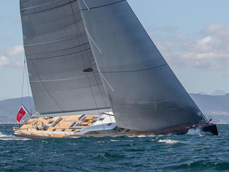 Super Yacht Series Specialised sails that are designed, engineered and built with absolute attention to detail.