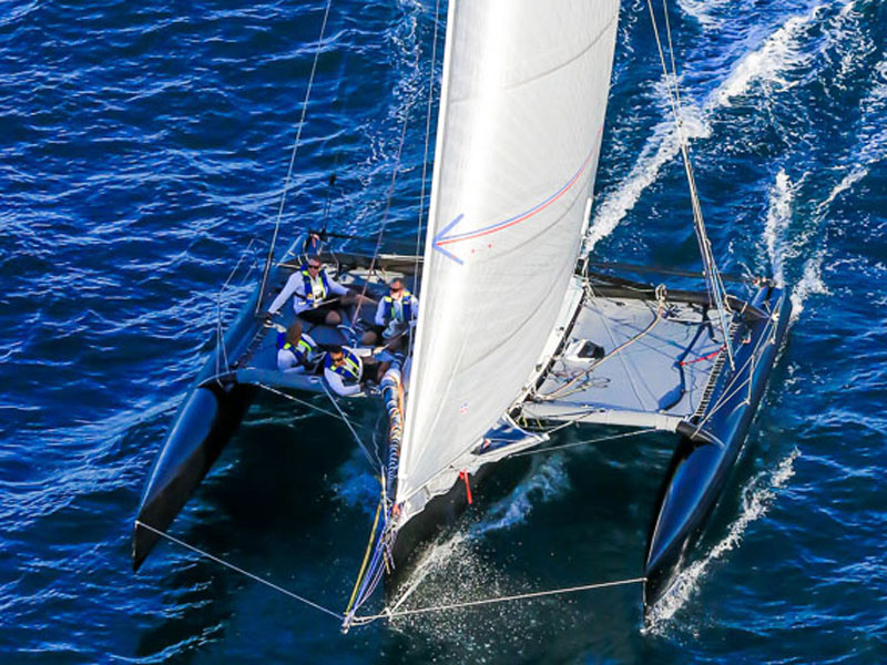Multihulls Specialised sails for beach racers to ocean-going record breakers.