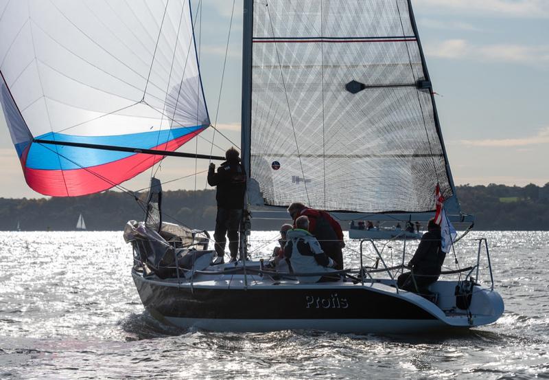Quarter ton boat Ullman Sails