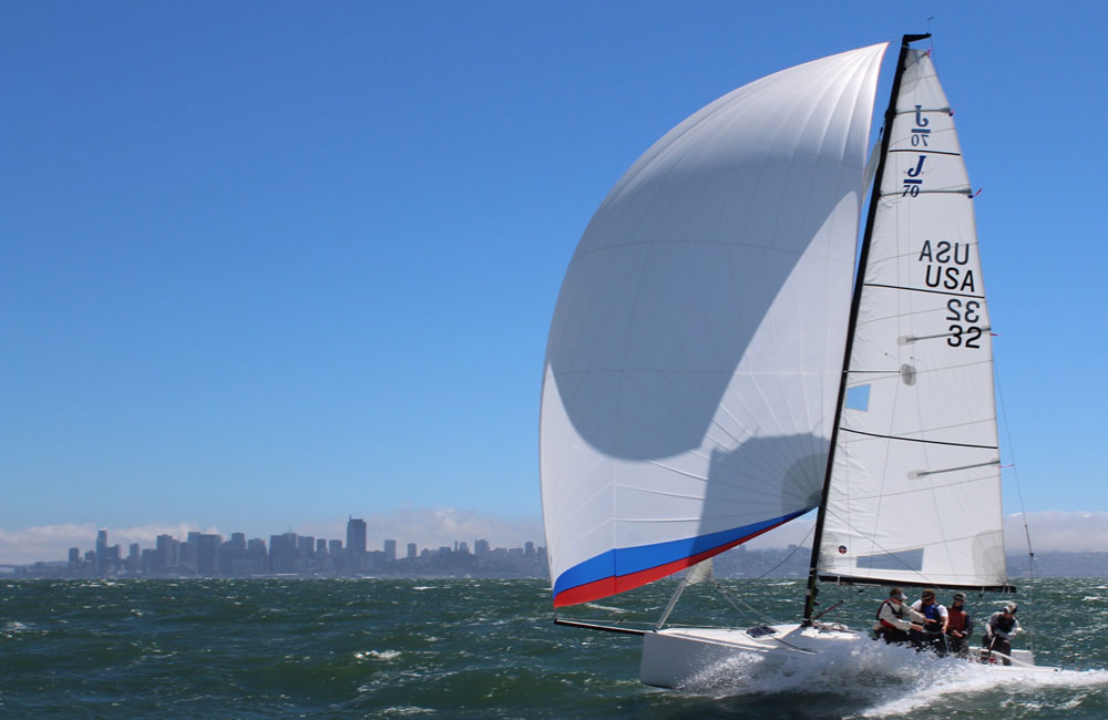 Racing sails by Ullman Sails