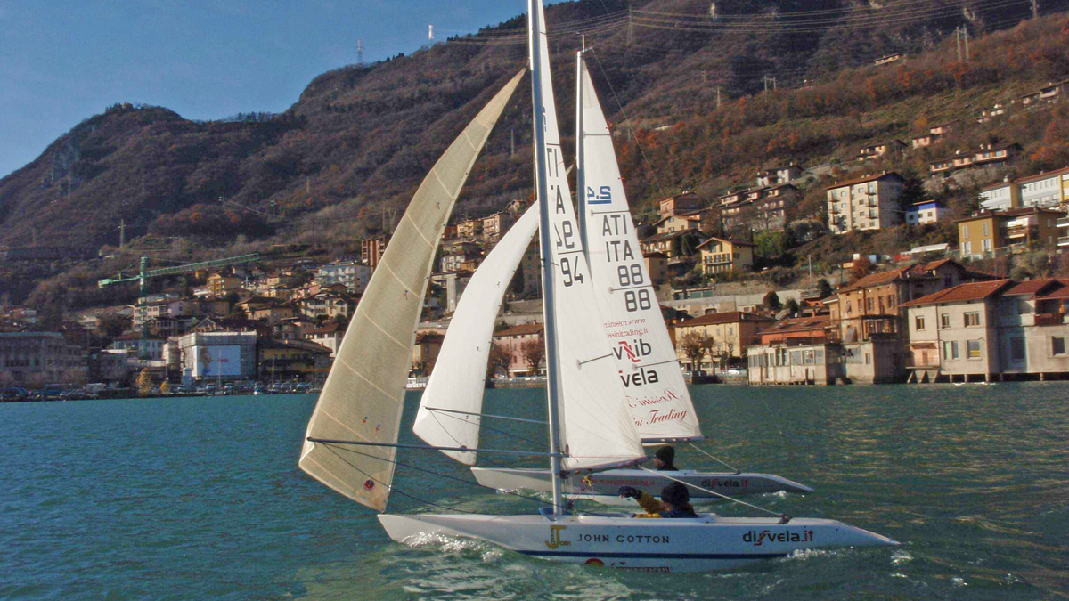 2.4 Meter Ullman Sails featured in Italy