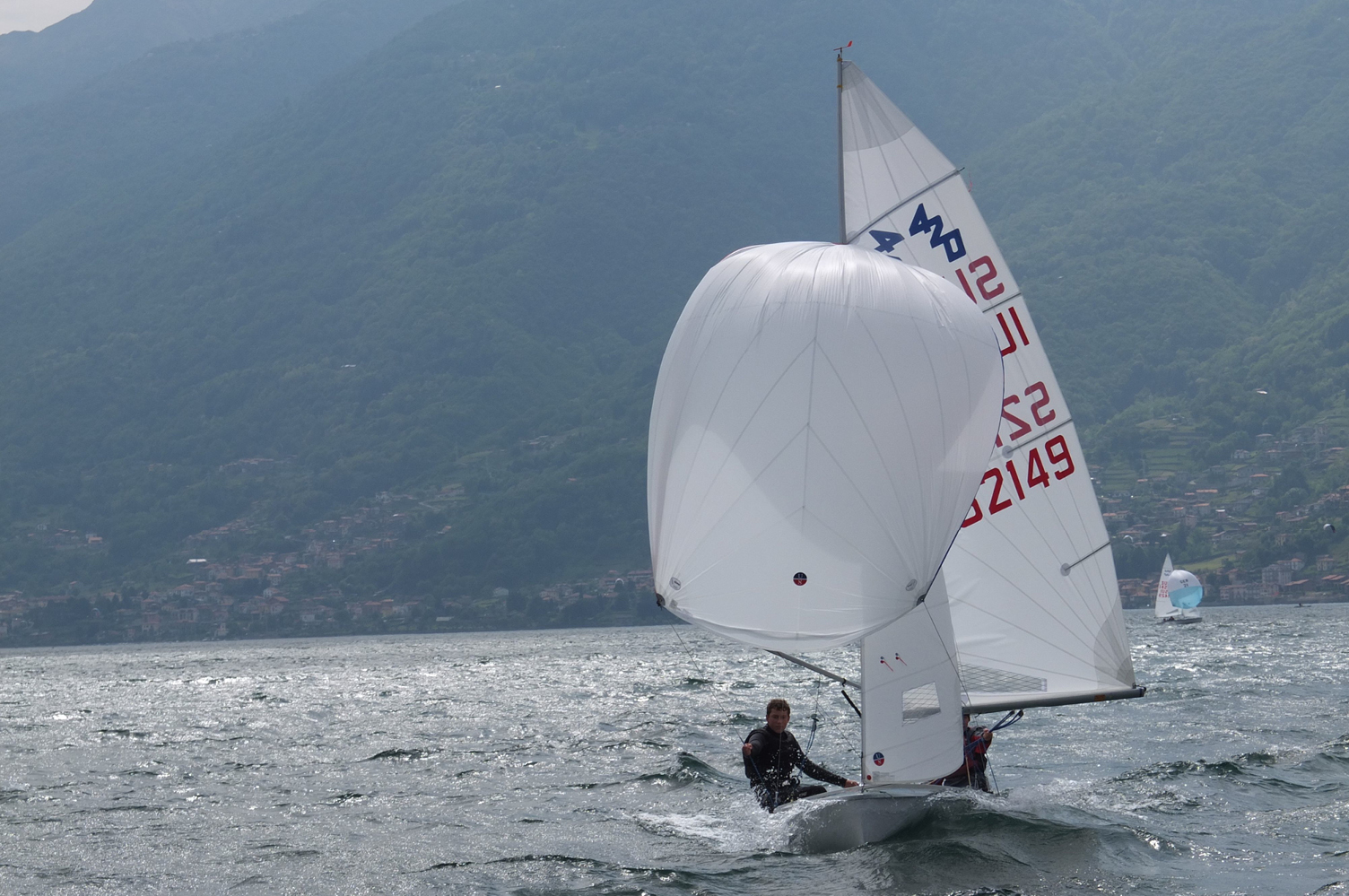 Ullman Sails 420 Sail Testing in Italy