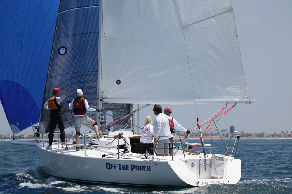 Ullman Sails powered J/105s