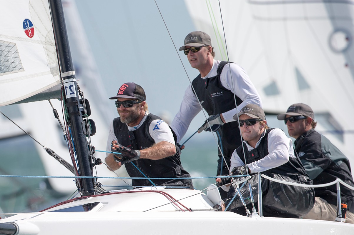 2015 J/70 World Champions used the Ullman Sails mainsail